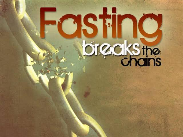 Fasting for physical and spiritual healing